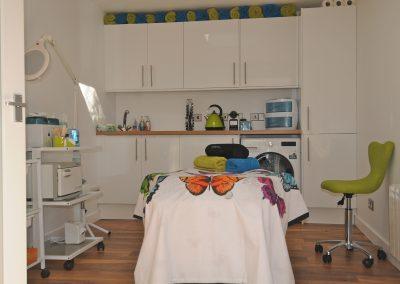 Beautylicious treatment area