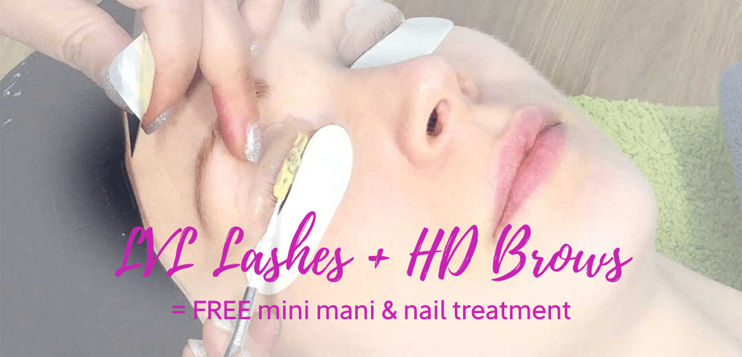 LVL Lashes + HD Brows Bundle